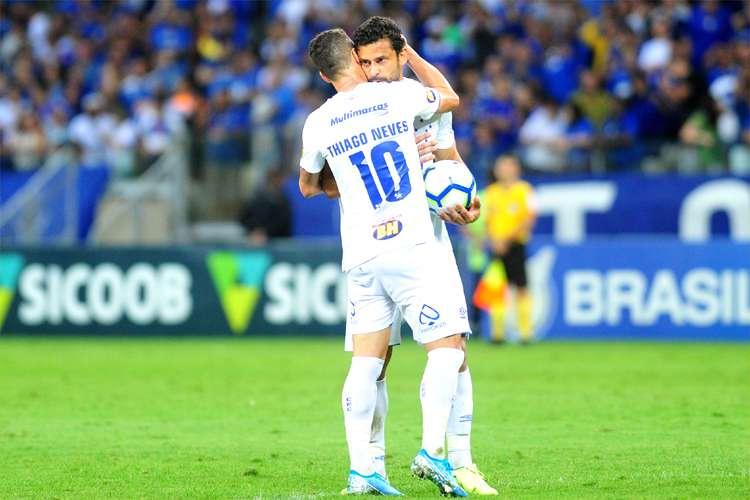 Abel quer usar experiência de Thiago Neves e Fred como trunfo para fazer Cruzeiro respirar no Brasileiro