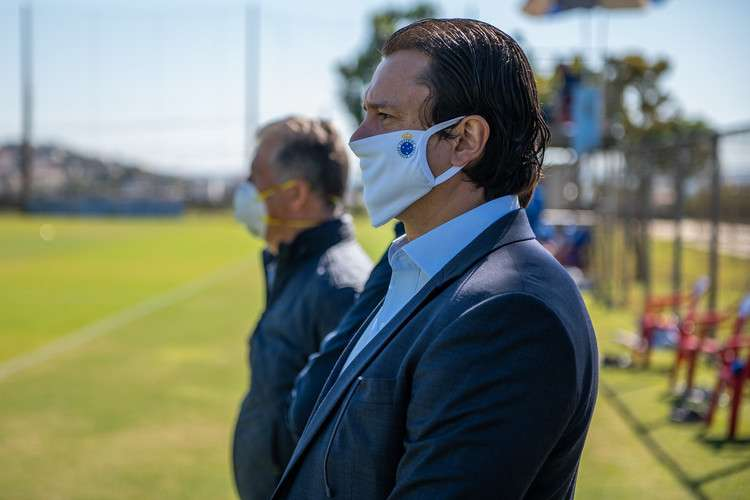 Cruzeiro vai transmitir treino desta sexta-feira na Toca